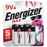 Energizer® Max® 9-Volt Alkaline Batteries