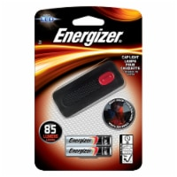 Energizer 85 lumens Black LED Cap Light AAA Battery - Case Of: 1; - Count of: 1