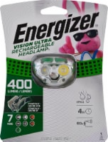 Energizer® Vision Ultra Rechargeable Headlamp
