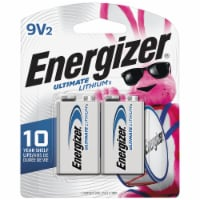 Energizer® Ultimate Lithium 9-Volt Batteries