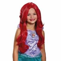 Disney Princess Ariel Little Mermaid Girls' Wig, Child One Size - 1
