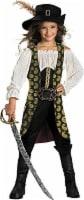 Pirates of the Carribean Angelica Deluxe Child Costume - Medium (7-8) - 1