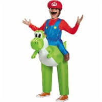 Disguise 85150CH Mario Riding Yoshi Child Costume, One Color, One Size Child - 1