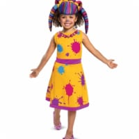 Disguise 403338 Girls Super Monsters Zoe Walker Classic Toddler Costume, Large 10-12