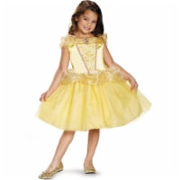 Disguise Belle Classic Disney Princess Beauty & The Beast Costume, One Color, Medium/7-8