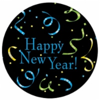 Creative Converting New Years Streamers Dinner Plates - 1