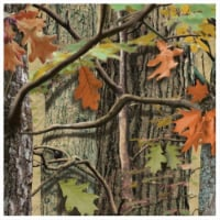 Creative Converting 655676 Hunting Camo - Beverage Napkins - Case of 216