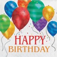 Creative Converting Ballon Blast Happy Birthday Lunch Napkins
