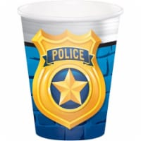 Creative Converting 300942 Police Party Hot & Cold Cup, 9 oz - 8 Piece