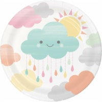 James Paul Products Sunshine Baby Showers Dessert Plates
