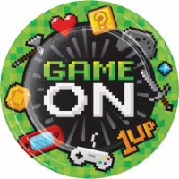 Creative Converting 336033 Video Game Party Paper Plates, 8 Count