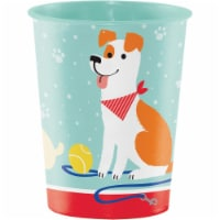 Creative Converting 336664 Dog Party 16 oz Favor Cup