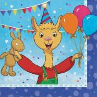 Creative Converting 338723 Llama Party Napkins, 16 Count - 16