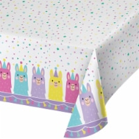 Creative Converting 339587 Llama Party Plastic Tablecloth