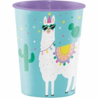 Creative Converting 339589 Llama Party 16 oz Plastic Cup - 1
