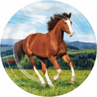 Creative Converting 339760 Wild Horse Paper Plates, 8 Count - 8