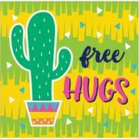 Creative Converting 339789 Fiesta Fun Cactus Beverage Napkins, 16 Count