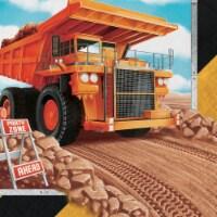 Creative Converting 339793 Big Dig Construction Napkins, 16 Count