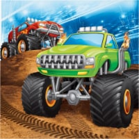Creative Converting 339804 Monster Truck Napkins, 16 Count