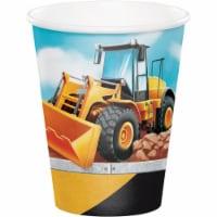 Creative Converting 340120 Big Dig Construction Cups, 8 Count