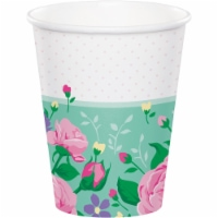 Creative Converting 340124 Floral Fairy Cups, 8 Count - 8