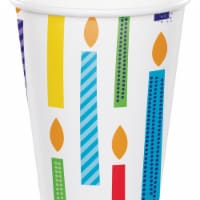 Creative Converting 340127 Bright Birthday Cups, 8 Count - 8