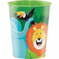 Creative Converting 340202 Jungle Safari 16 oz Plastic Cup - 1