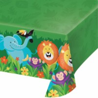 Creative Converting 340208 Jungle Safari Plastic Tablecloth
