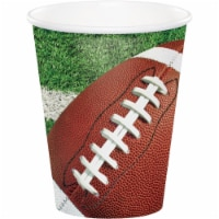 Creative Converting 340501 Football Party Cups, 8 Count - 8