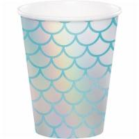 Creative Converting 340544 Iridescent Mermaid Cups, 8 Count - 8
