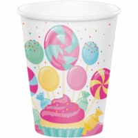Creative Converting 344474 8 oz Candy Bouquet Cup - 96 Count - 1