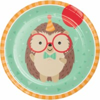 Creative Converting 345890 9 in. Hedgehog Party Dinner Plates - 96 Count
