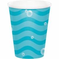 Creative Converting 345990 9 oz Ocean Paper Cups - 96 Count