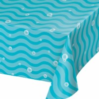 Creative Converting 345991 54 x 102 in. Ocean Paper Table Cloths - 6 Count