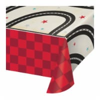 Creative Converting 345971 54 x 102 in. Vintage Race Car Paper Tablecloths - 6 Count