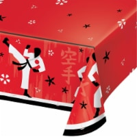 Creative Converting 346246 54 x 102 in. Karate Party Paper Tablecloths - 6 Count