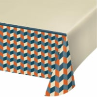 Creative Converting 346265 54 x 102 in. Hipster Birthday Paper Tablecloths - 6 Count
