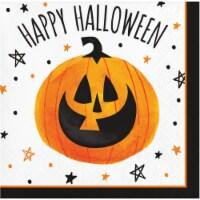 Creative Converting Partyin' Pumpkin Napkins