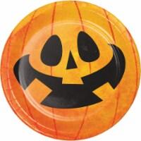 Creative Converting Partyin' Pumpkins Plates
