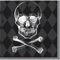 Creative Converting Daunting Skulls Napkins