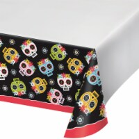 Creative Converting Die De Muertos Table Covering