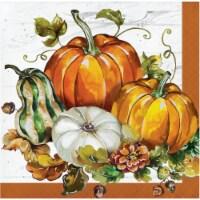 Creative Converting Bountiful Cornucopia Thanksgiving Beverage Napkin