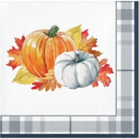 Creative Converting Thanksgiving Elegance Beverage Napkin