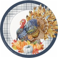 Creative Converting Thanksgiving Elegance 9 Inch Plates