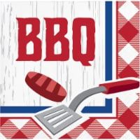 Creative Converting Summer BBQ Beverage Napkin 16 Pack