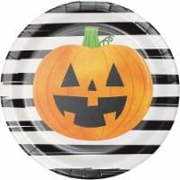 Creative Converting Chic Pumpkins Plates - 8 pk