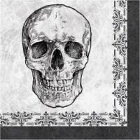 Creative Converting Skull & Spider Lunch Napkins - 16 pk