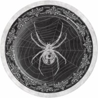 Creative Converting Skull & Spider 7-Inch Paper Plates - 8 pk