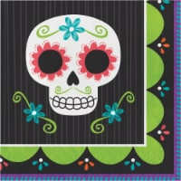 Creative Converting Day of the Dead Lunch Napkins - 16 pk