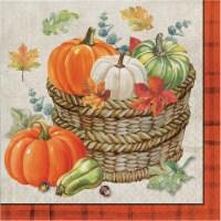Creative Converting Trendy Fall Lunch Napkins - 16 pk